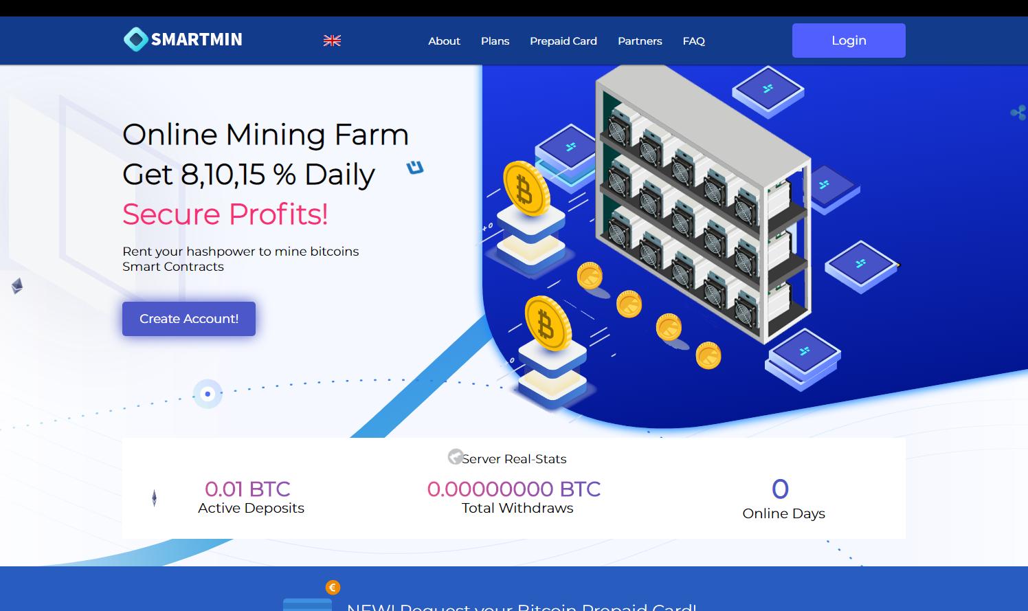 скрипт майнинга криптовалюты MiningGenerate